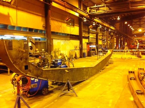The keel of the Mayflower