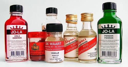Geur-, kleur- en smaakstoffen op Aziatische-ingredienten.nl