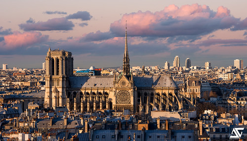 Notre-Dame from Panthéon