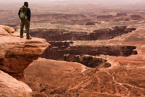 Marko at Canyonlands