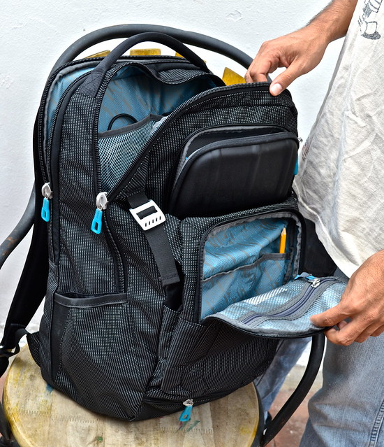 spacious durable thule backpack