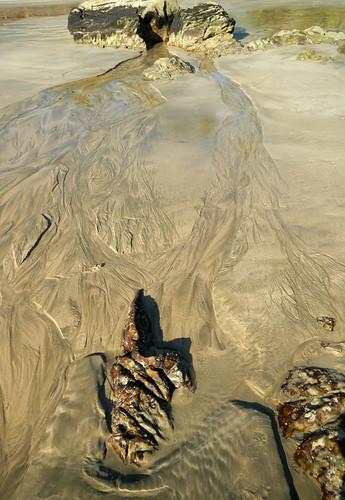Ngapali Beach Waves Painting Sand