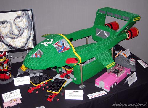 ANDERCON 2014  Mosaic, Thunderbird 2, Fab 1