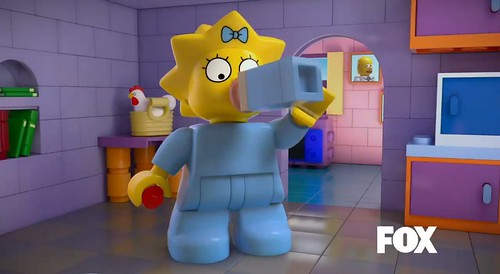 The Simpsons LEGO Episode Maggie