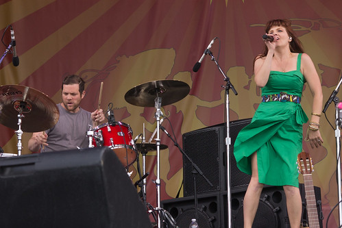 Theresa Andersson @ Jazzfest 2014