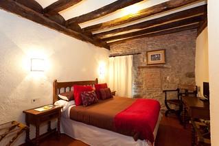 Las antiguas celdas de las monjas son hoy modernas habitaciones.