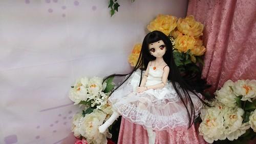 かわいい花嫁。