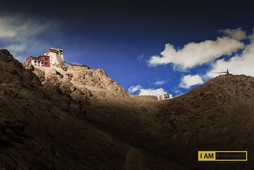 travel sunset sky sun india nikon palace monastery fx leh moutain ladakh ixl d610 lehpalace nikon2470 nikond610 31may14 gonpasoma