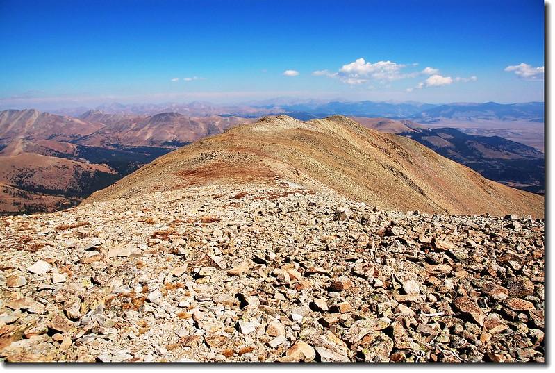NE Ridge of Silverheels