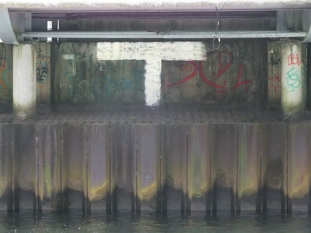 TSP Graffiti outside Millennium Stadium, Cardiff
