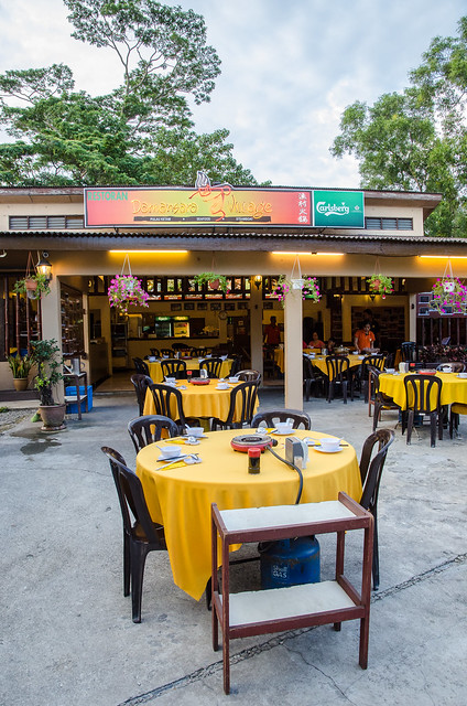 Damansara Village Steamboat Restaurant at Kampung Sungai Kayu Ara, Petaling Jaya