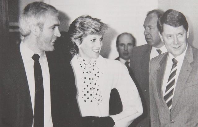 Day 159 - Princess Diana visting drug squad - 1987