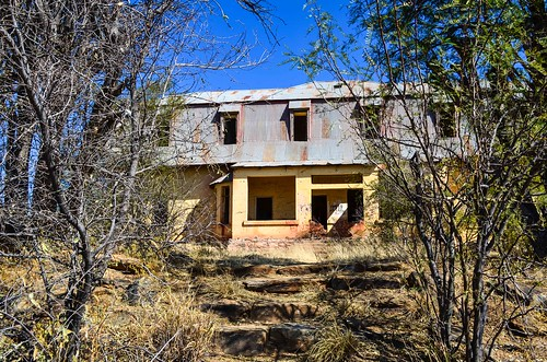 Liebig house in the Khomas highland, Namibia