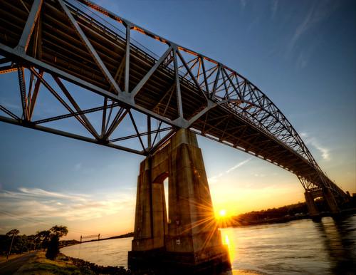 bridge sunset ma canal unitedstates capecod massachusetts newengland bourne thecape