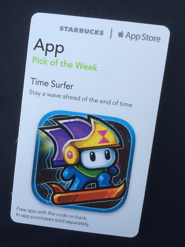 Starbucks iTunes Pick of the Week - Time Surfer