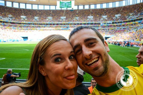 A Cruising Couple at the World Cup Brazil