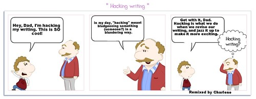 Hacking writing remix6