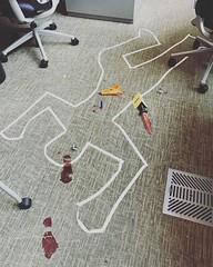 I stumbled upon this tragic workplace fatality today. #nerfguncontrol