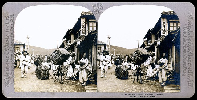 A VISIT TO OLD KOREA in 1902, No.3 --  Korea As it Was, Captured in 3-D by HERBERT G. PONTING