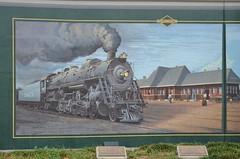 Murals on Paducah Floodwall