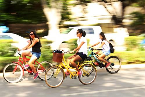 Sunday cycling - Paseo de Montejo, Merida, Mexico - IMG_4074