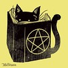 Witchcraft Cat / Tshirts, prints, iPhone cases and more https://goo.gl/uVgZpj #tshirt #customtshirts #tshirtdesign #iphonecase #iphone6case #cheaptshirts #tee #graphictees #tshirts #tobiasfonseca #tobefonseca #cooldesigns #funnytshirts #cooltshirts #vinta