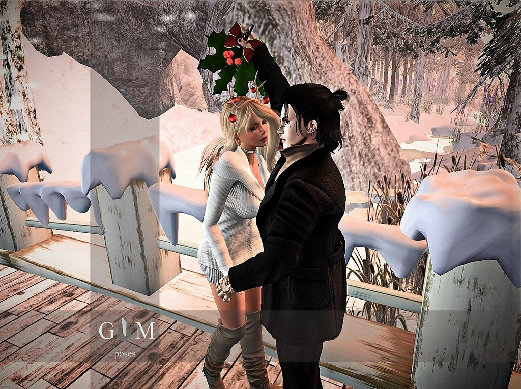 kiss under mistletoe v.1MP - SecondLifeHub.com