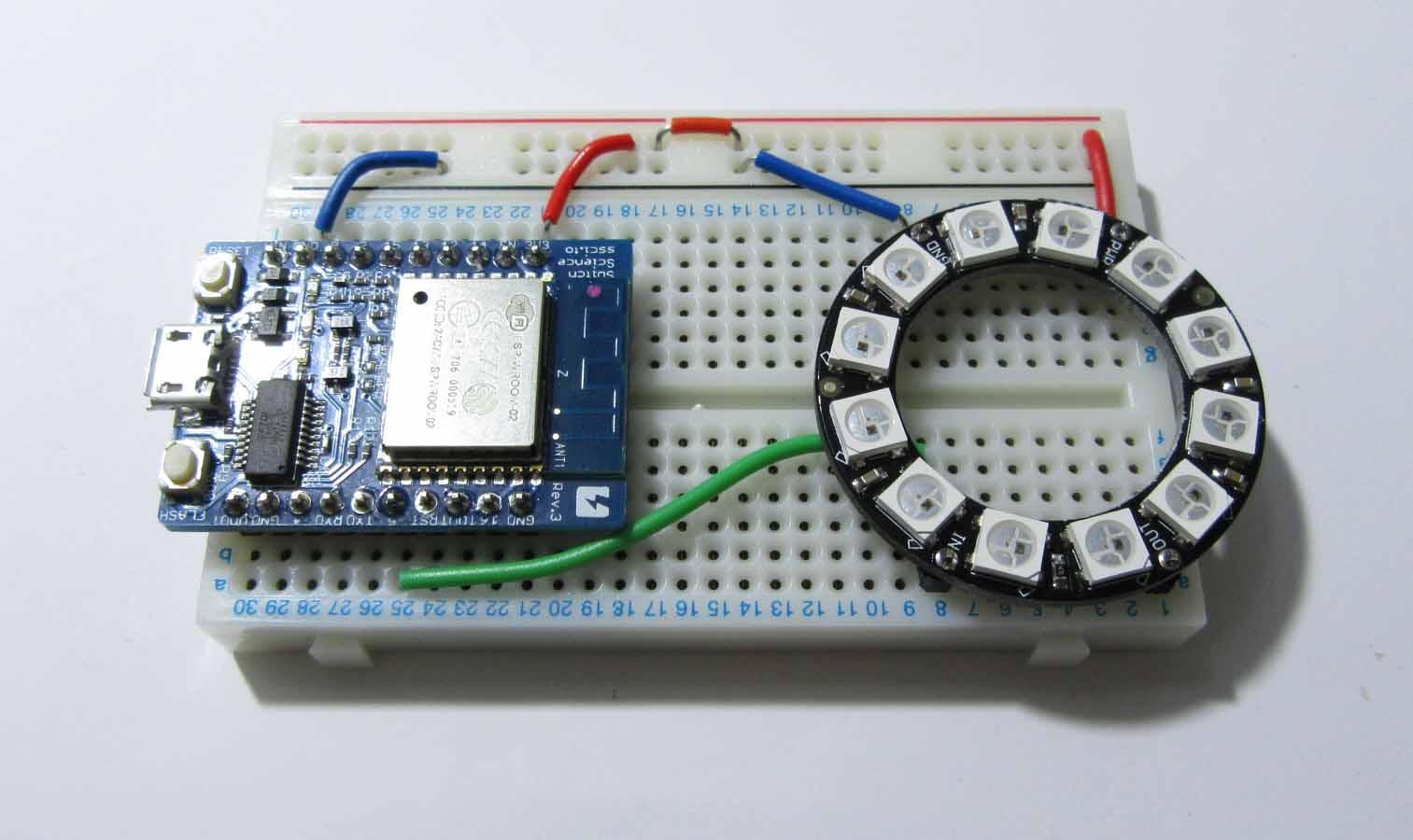 Neopixel と紙で フルカラー led イルミネーション オブジェを作ってみた mgo tec電子工作