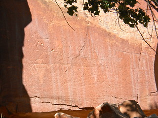 Petroglyphs in Capitol Reef National Park