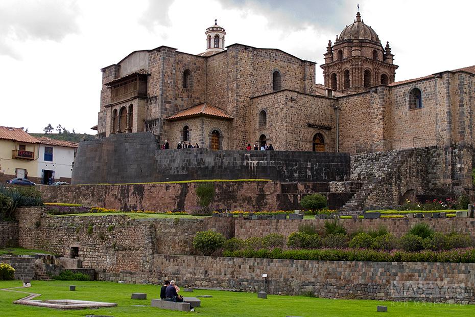The UNESCO World Heritage 'Santo Domingo'.