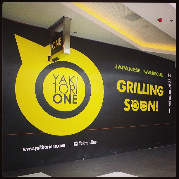 Yakitori One opening soon at SM Aura