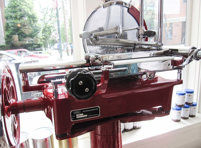 From Holland with love: the Berkel Prosciutto Slicer