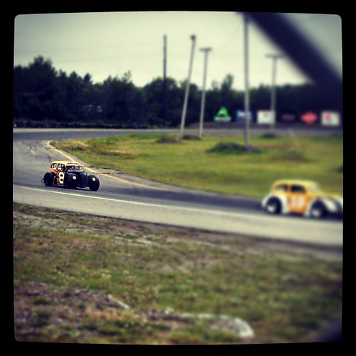 On track for practice #8 #uslegends #racecar #nelcar #Maine