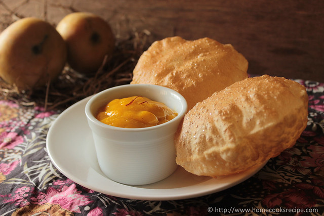 aamras with puri
