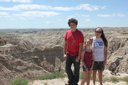 Reha kids in the Badlands