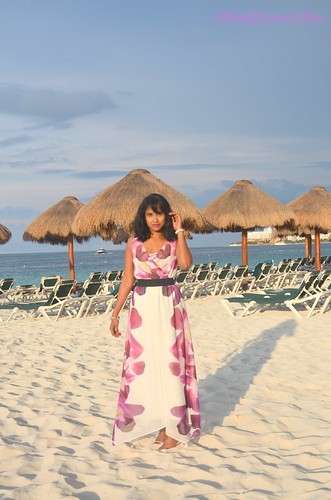 Maxi dress in Mexico