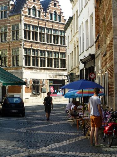 Street scene, antwerp