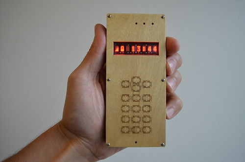 DIY cellphone (in hand)