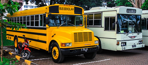 Bus Sekolah and School Bus by raymaulany07