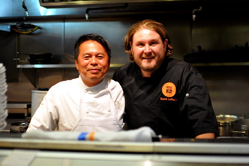"Chef David LeFevre & Chef Charles Phan ""Can You Dig It?"" Collaboration - M.B. Post"