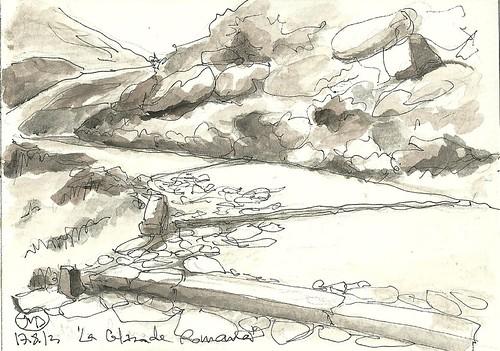La calzada romana del Puerto El Pico