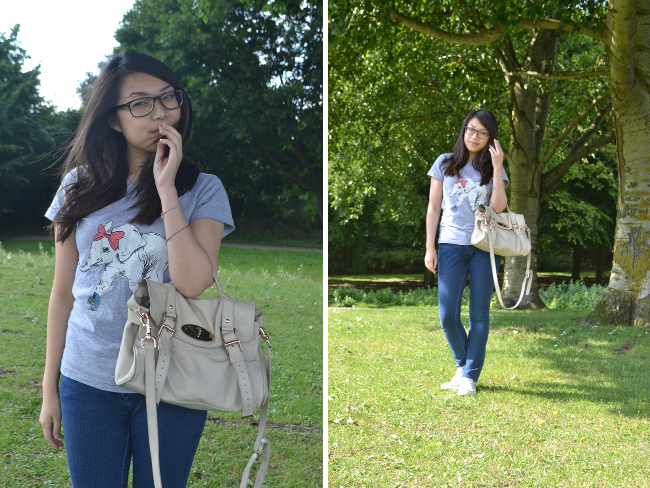 Daisybutter - UK Style and Fashion Blog: what i wore, ootd, brat & suzie, asos, chanel, osiris for specsavers