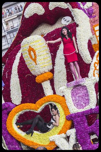 Batalla de las Flores 2013
