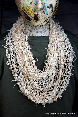 Tea Bag String Infinity Scarf