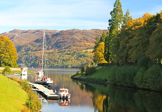 Fort Augustus,Scottish Highlands