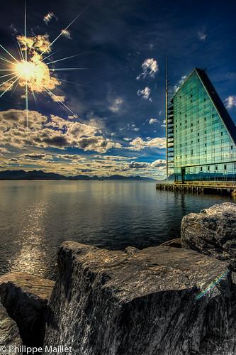 sea norway sunrise hotel nikon rica sail colored fjord nikkor hdr molde d800 photomatix 1424