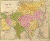 Antique map of Asia by Francesco Corallo