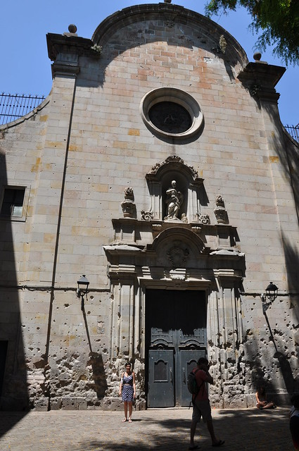 San Felip de Neri Church - Barcelona