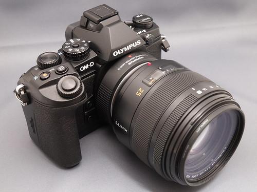 OLYMPUS OM-D E-M1 + LEICA D Summilux 25mm F1.4 Asph. + MMF-3