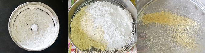 How to make snei urundai recipe - Step2